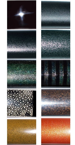 Styles of Lacquer Available